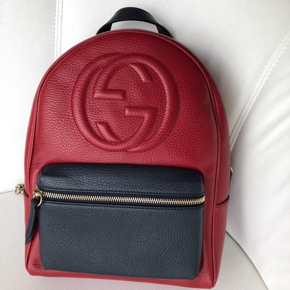 020faf99fe99 Gucci Bags | Soho Chain Leather Backpack | Poshmark